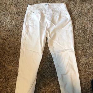White jeans by Kensie